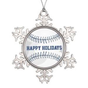Happy Holidays Baseball
